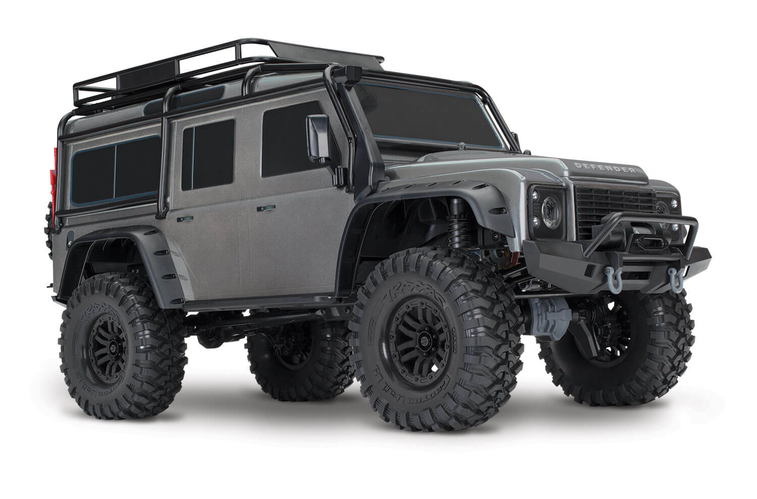 traxxas trx 4 crawler land rover defender 110 green. Black Bedroom Furniture Sets. Home Design Ideas