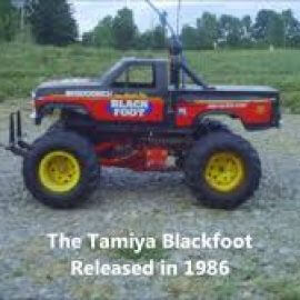 monster truck 4x4 blackfoot by tamiya
